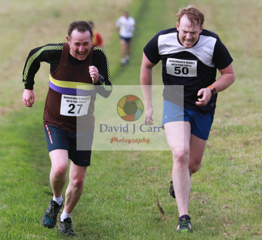 Wingerworth Wobble 2015, attacking the final hill